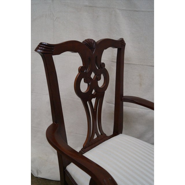 Lexington Chippendale Dining Chairs - Set of 8 For Sale - Image 5 of 10
