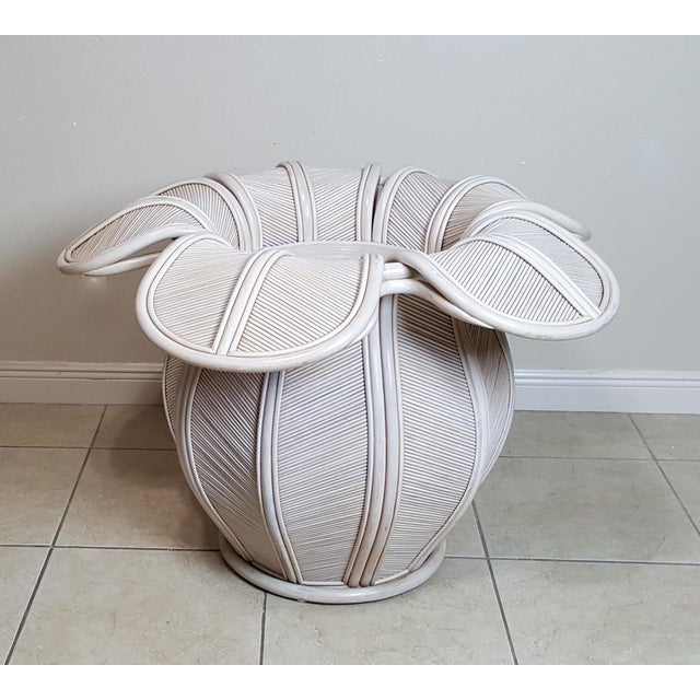 Gabriella Crespi Attributed Sculptural Flower Dining Table For Sale - Image 9 of 9