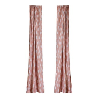 "Pepper Carolina 50"" x 84"" Curtains - 2 Panels For Sale"
