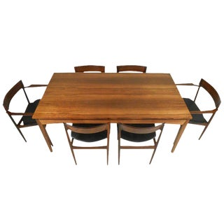 Danish Mid Century Modern Rosewood Dining Set For Sale