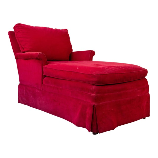 Small Ladie's Chaise Longue For Sale - Image 11 of 11