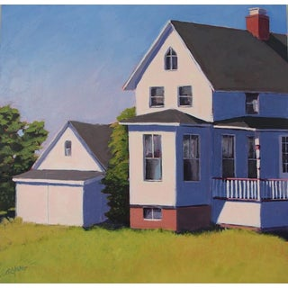 Carol C Young, House by the Harbor, 2015 For Sale
