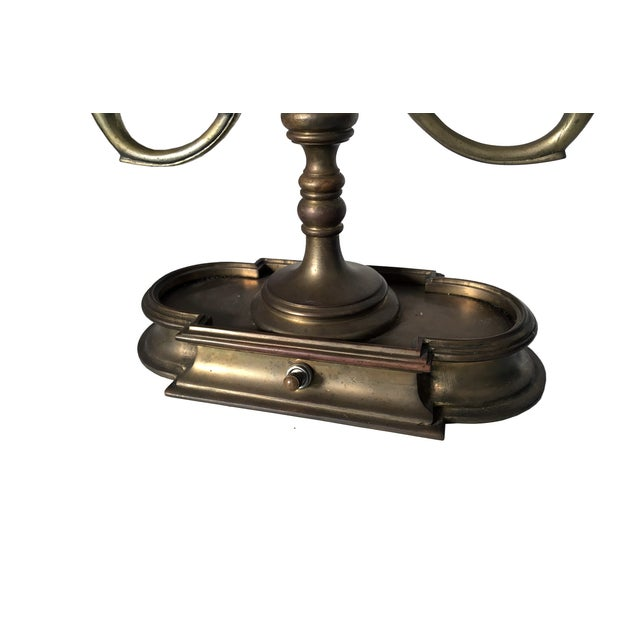 French Antique French Bouillotte Lamp For Sale - Image 3 of 8