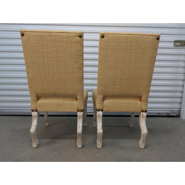 John Dickinson Style Chairs- A Pair For Sale In Detroit - Image 6 of 12
