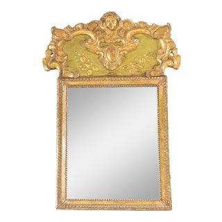 19th C. Italian Giltwood Mirror For Sale