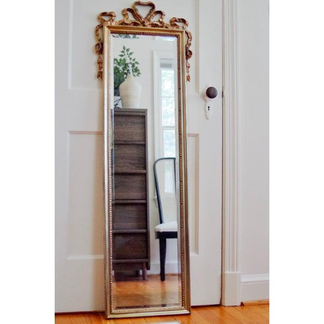Wood Carolina Mirror Company Gilt Wall Mirror For Sale - Image 7 of 7