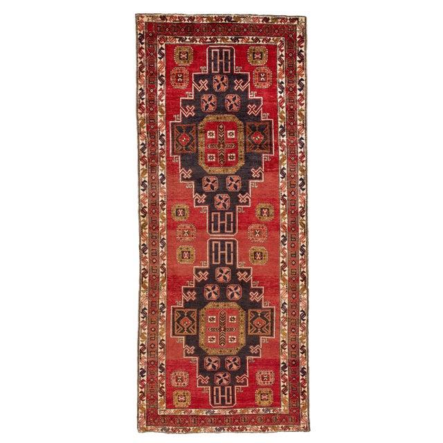 "Apadana - Vintage North West Persian Rug, 4'7"" X 11'3"" For Sale"