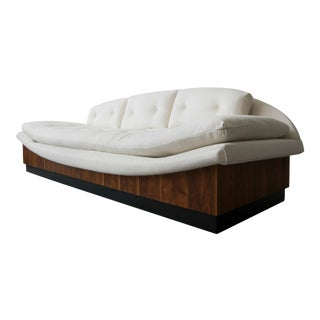 Mid Century Platform Gondola Sofa by Adrian Pearsall For Sale