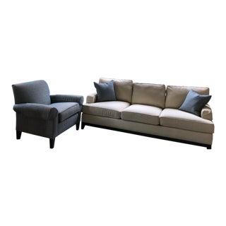 Ethan Allen Sofa & Chair - 4 Pieces