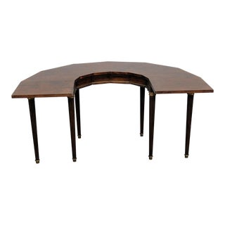 Directoire Style Wooden Wine Tasting Table For Sale