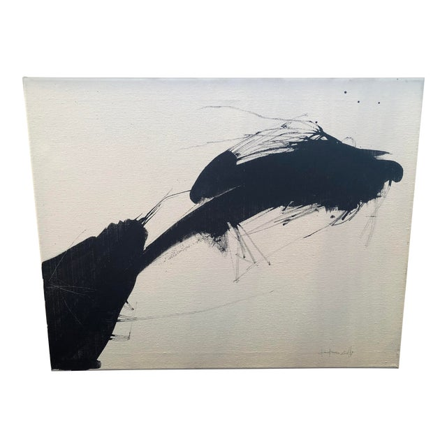 Gianfranco Cioffi Sumi Ink Painting 16x20 For Sale