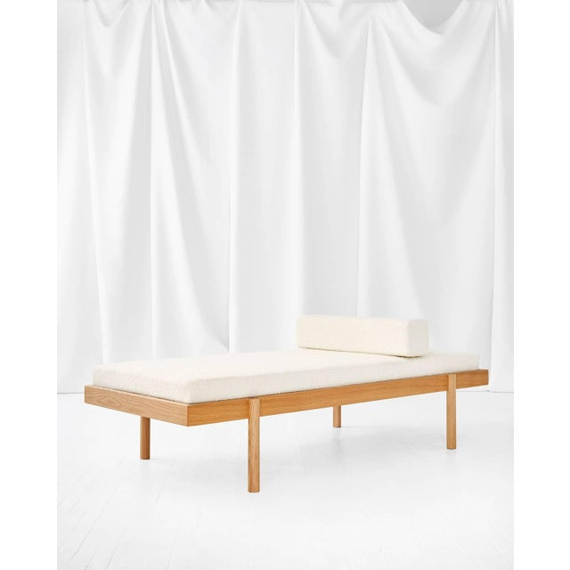 Wc2 Daybed by Ash Nyc in White Oak For Sale - Image 4 of 10