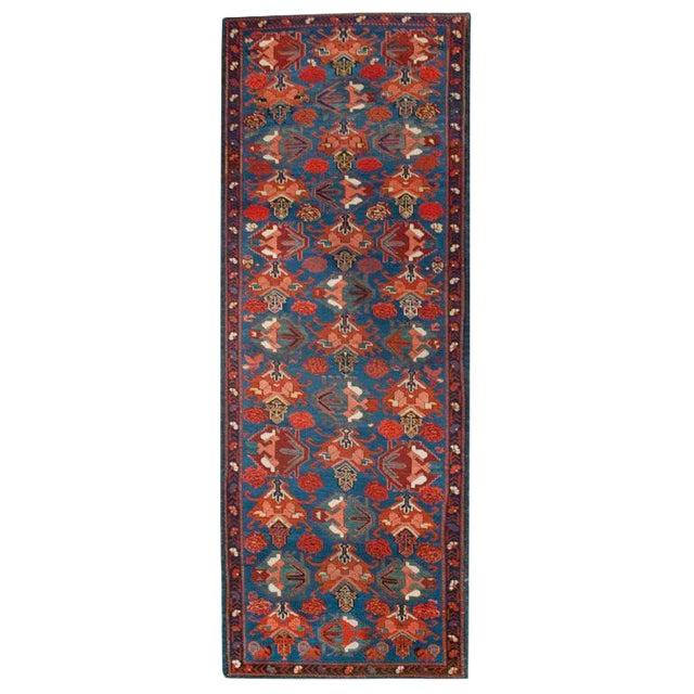 """Antique Seyhur Carpet - 3'6"""" x 9'6"""" For Sale"""