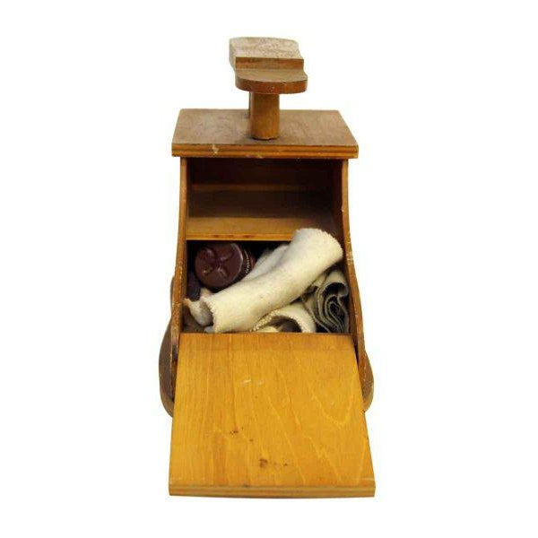 Olde Wood Rise N Shine Shoe Stand - Image 3 of 8