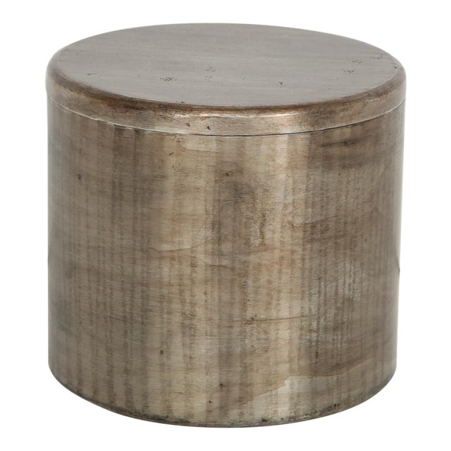 Hammered Steel Canister by Philolaos For Sale