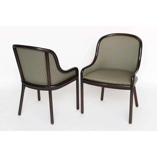 Pair of Ward Bennett Chairs for Brickell 1970s For Sale - Image 5 of 10