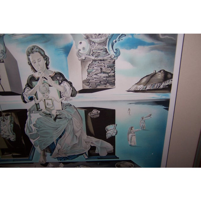 Signed 1979 Dali Print Carmen With Original Bill - Image 3 of 9