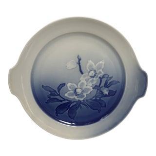 Mid Century Copenhagen Porcelain Decorative Plate For Sale