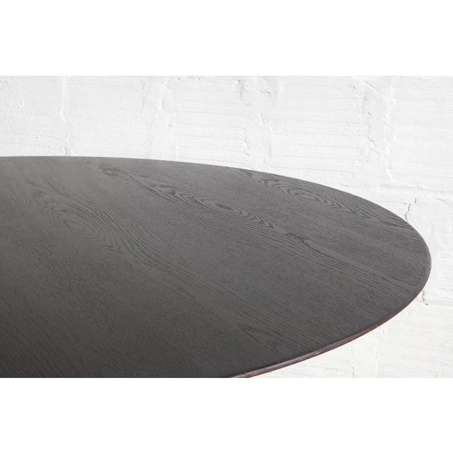Black Knoll Dining Table For Sale - Image 5 of 6