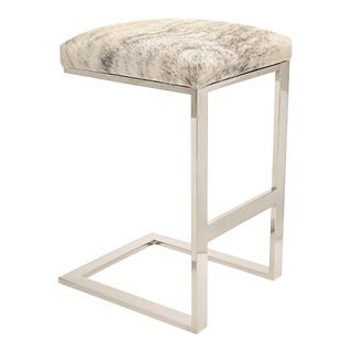 Hot Toddy Counter Stool Light Brindle Hair-On-Hide For Sale