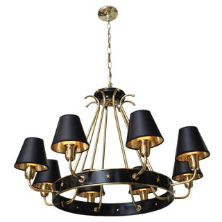 Maison Jansen Eight Arm Empire Style French Chandelier For Sale