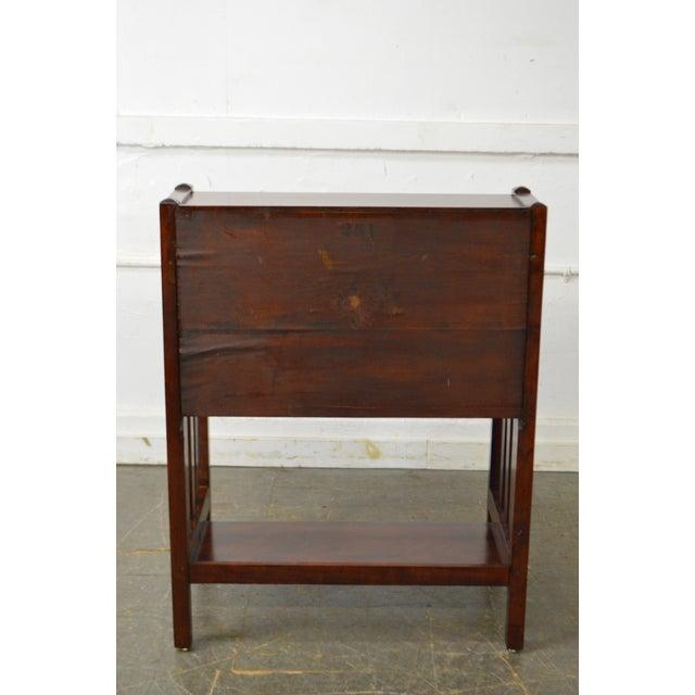 Danner Antique Mission Style Mahogany Slant Lid Writing Desk - Image 4 of 10