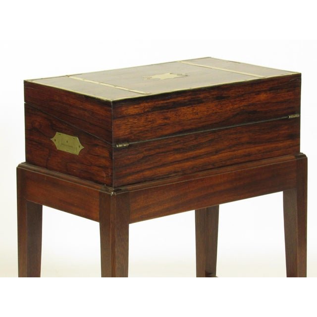 19th Century Regency Lap Desk on Stand For Sale - Image 11 of 11