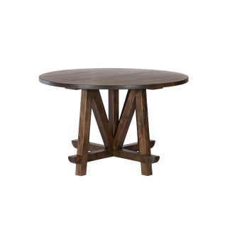 Contemporary Round Dining Table For Sale