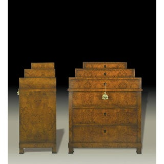 Osiron Chest of Drawers in Figured Olive Burl Preview