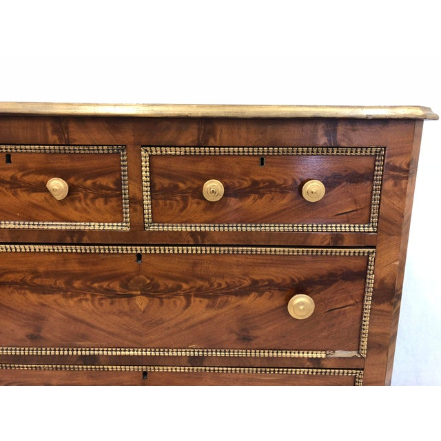 Antique Victorian Burl Chest For Sale In Raleigh - Image 6 of 7