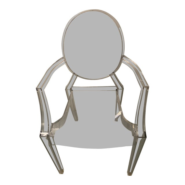 1990s Vintage Kartell Philippe Starck Ghost Chair For Sale