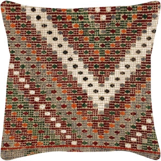 "Nalbandian - Turkish Cicim Pillow - 18"" X 18"" For Sale"
