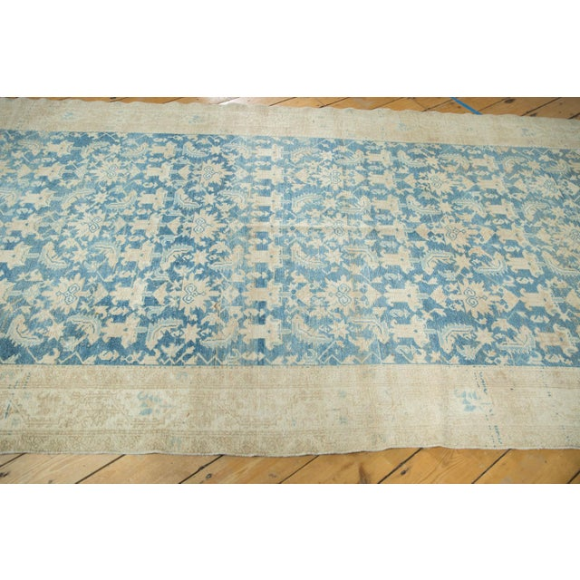 """Old New House Vintage Distressed Malayer Rug Runner - 5'3"""" X 16'5"""" For Sale - Image 4 of 13"""