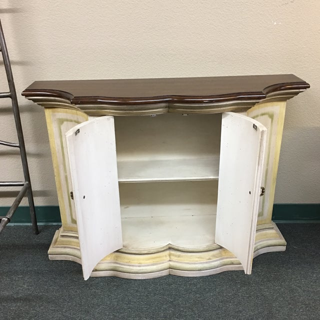 Small French Country Console - Image 4 of 6