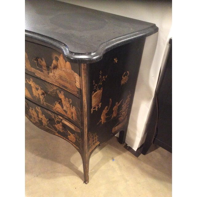 Chinoiserie Marble Top Chest For Sale In Raleigh - Image 6 of 7