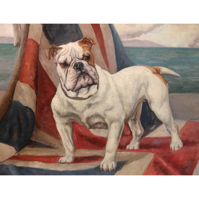 English Bulldog Oil Paintings