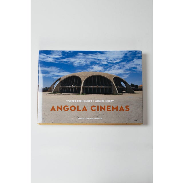 Angola cinema honors the unique, fantastic and unknown architecture of movie theaters in angola, build in the decades...