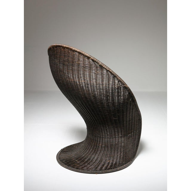 Modern Foglia Lounge Chair by Travasa for Bonacina For Sale - Image 3 of 8