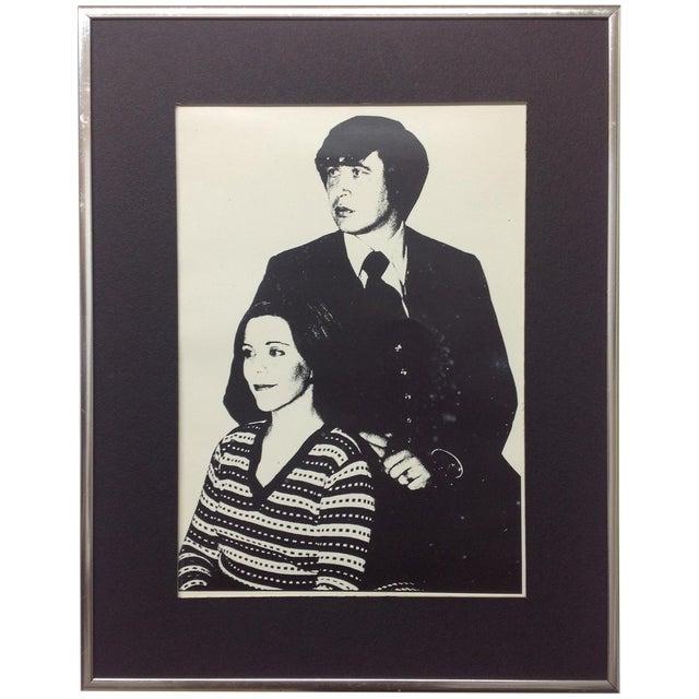 1976 Monochrome Silver Gelatin Portrait - Image 1 of 4