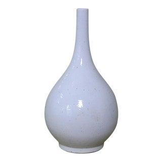 Sarried Ltd White Tear Drop Vase