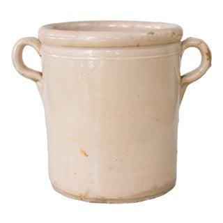 Antique Italian Confit Pot For Sale