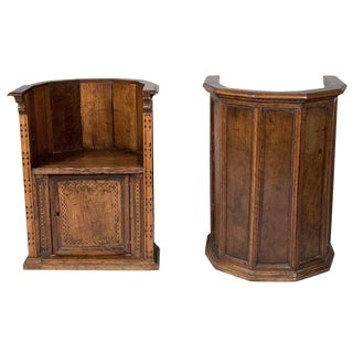 Later 16th to Early 17th Century Italian Renaissance Walnut Chairs For Sale