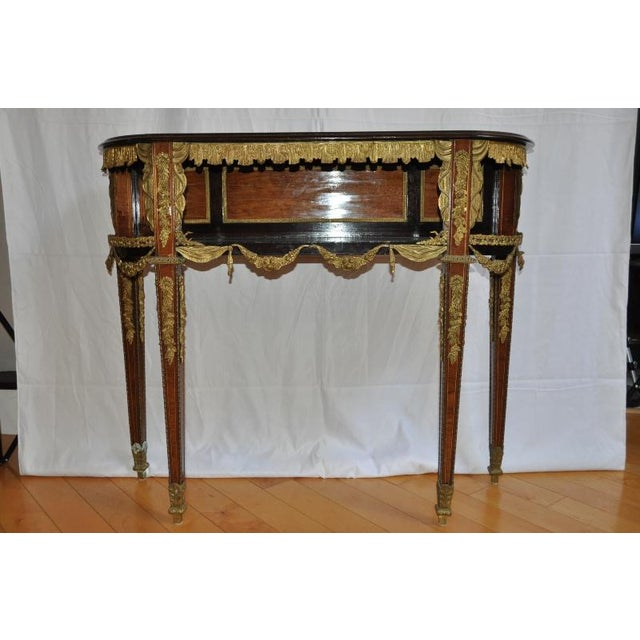 Antique Louis XVI Style Console After Design by Jean-Henri Riesener ...