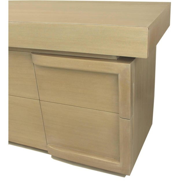 Driftwood Mahogany Eight-Drawer Chest in the Style of James Mont - Image 8 of 10