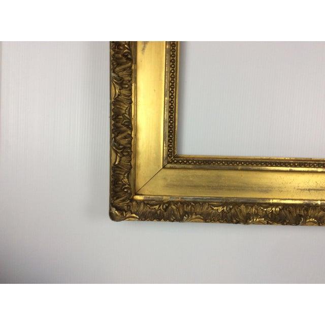 19th Century Antique Gilt Frame   Chairish