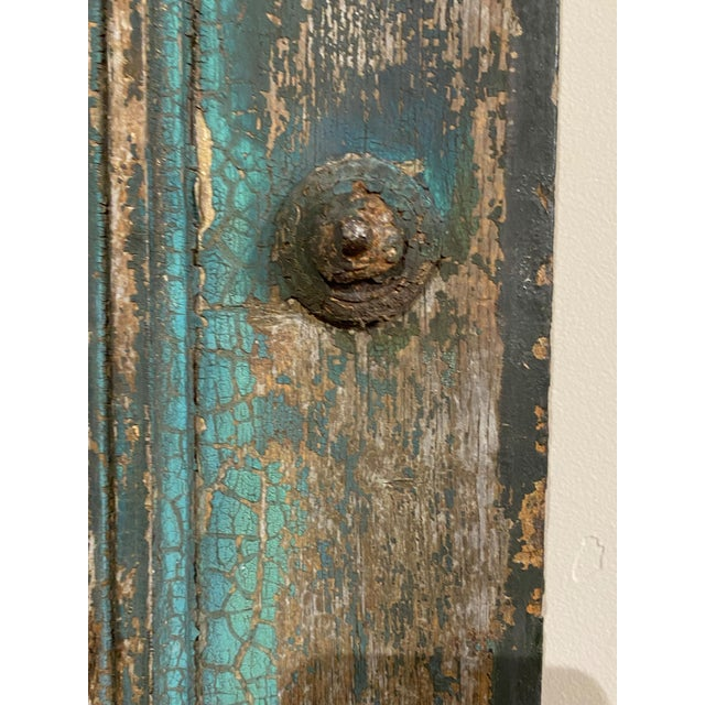 19th Century French Blue Doors - a Pair For Sale In Dallas - Image 6 of 8