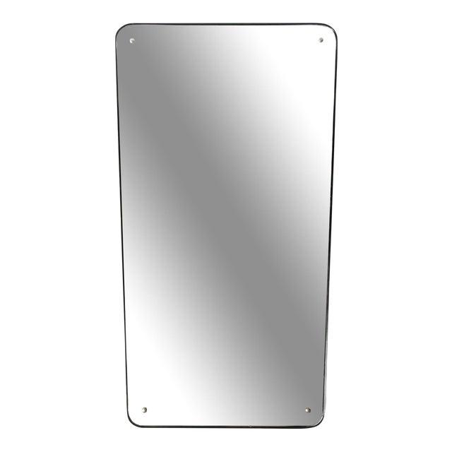 Mid-Century Modern Streamline Mirror For Sale
