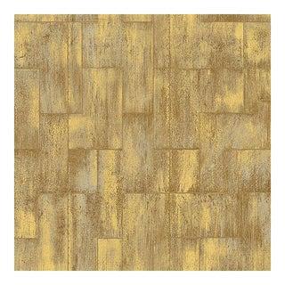 Elitis Samarcande Gold Metallic Geometric Wallpaper