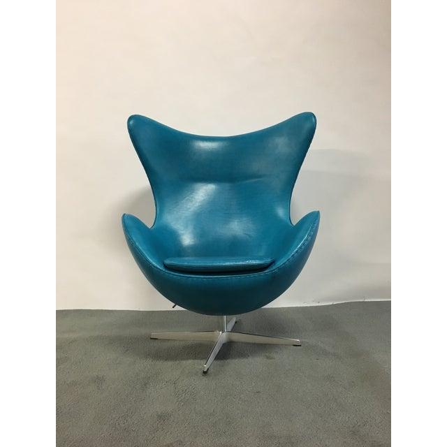 Fritz Hansen Fritz Hansen Arne Jacobsen Egg Chair For Sale - Image 4 of 7