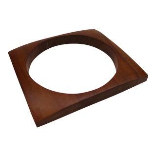 Scarce Modern Hawaiian Koa Wood Picture Frame For Sale